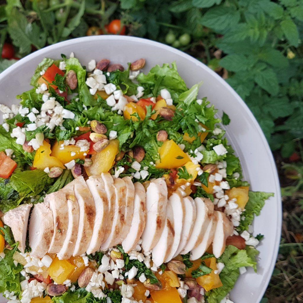 Salade-poulet-raisonetgourmandise