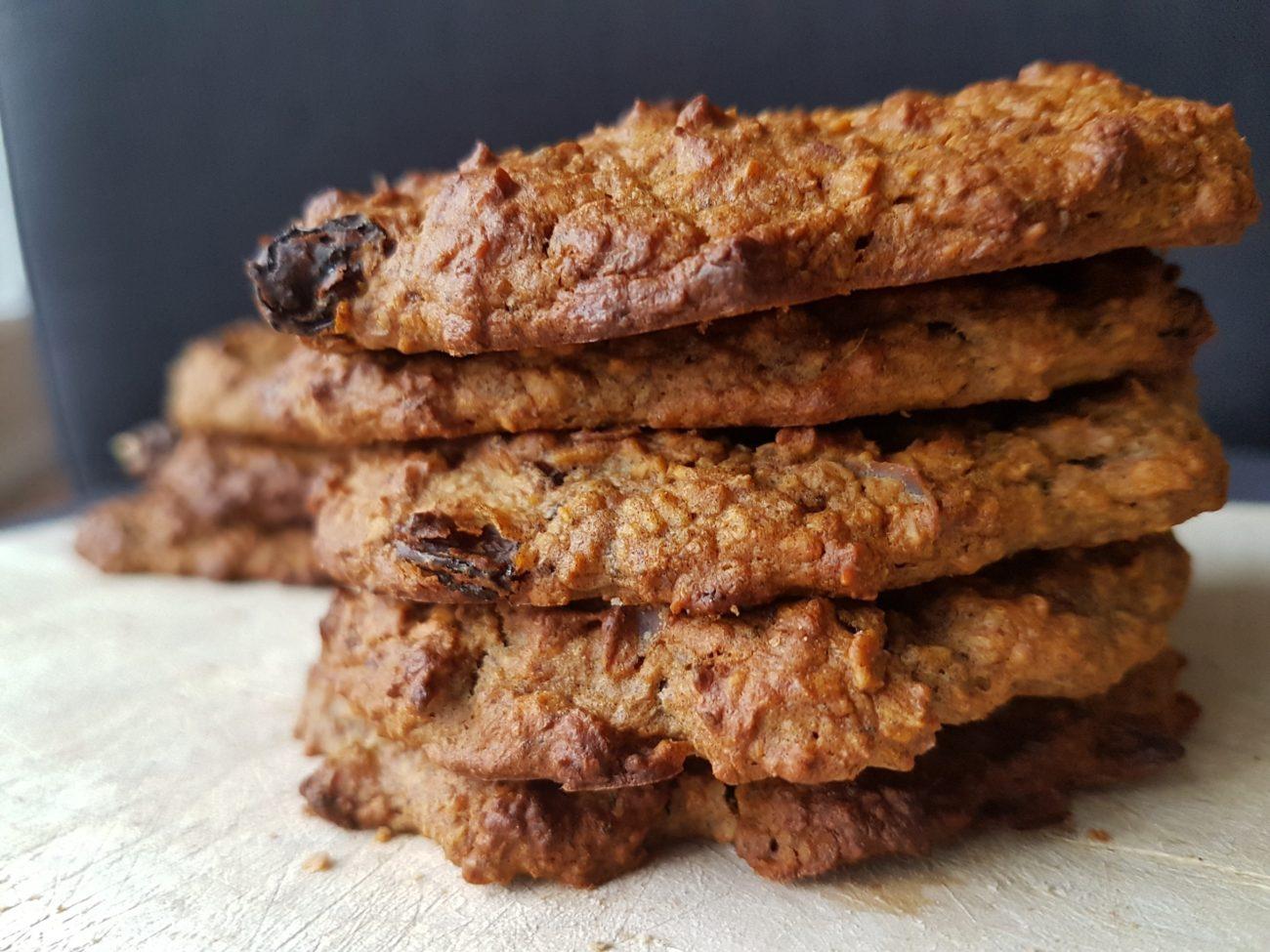 Biscuits déjeuner à l'avoine sans sucre ajouté