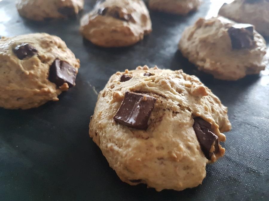Biscuits vegan aux brisures de chocolat