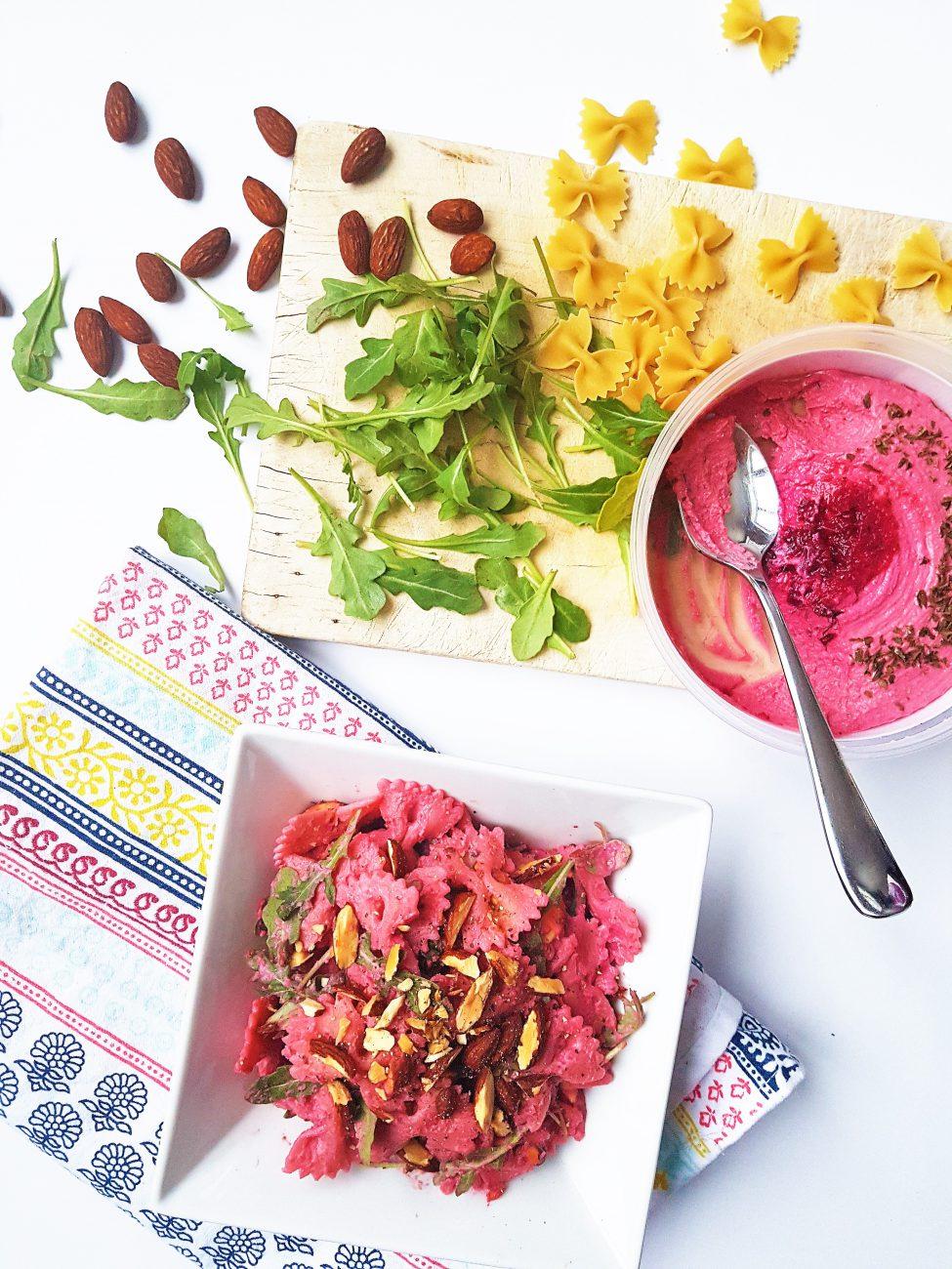 Salade de boucles flamboyante