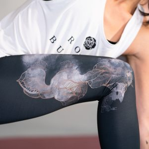 Leggings Rose Buddha