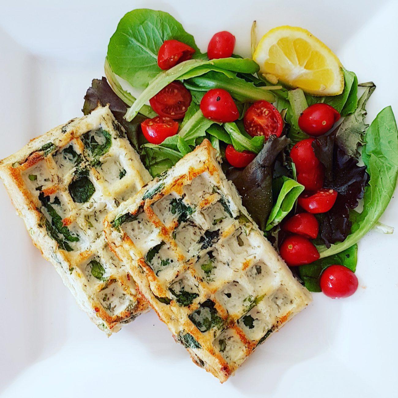 Gaufres-omelettes protéinées