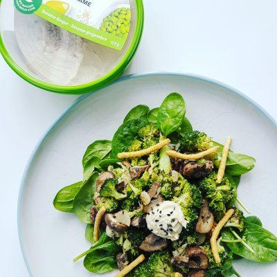 salade-legumes-grilles-hummus-sesame-gingembre-raisonetgourmandise.com