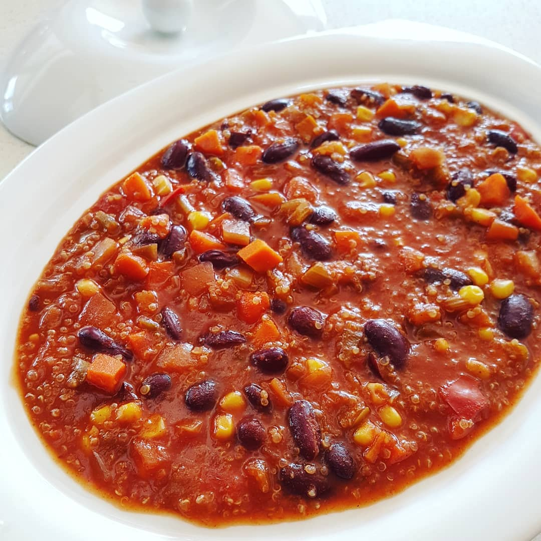 Chili végétarien au quinoa bébé fafa