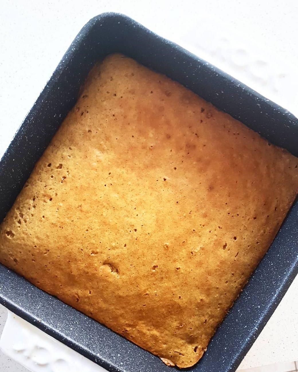 Gâteau à la vanille sans beurre ni huile