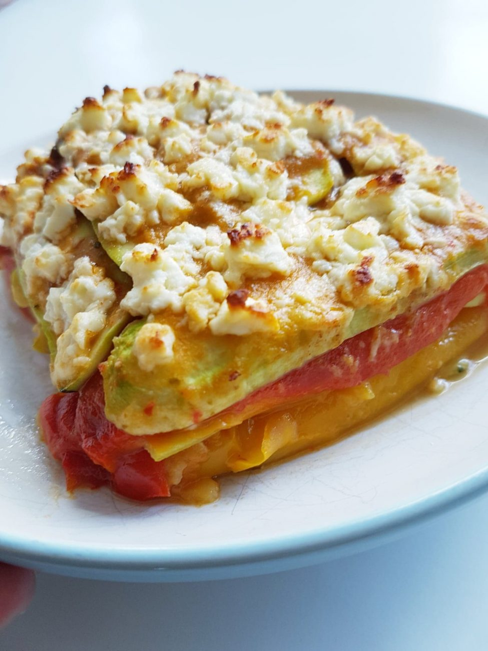 Lasagne ratatouille végétalienne sans pâtes (sans gluten ni produits laitiers)